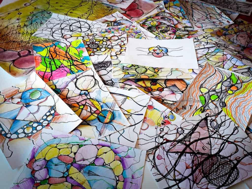 Школа ресурсного рисования Я-Графика. Онлайн курсы, вебинары, тренинги, материалы и галереи.