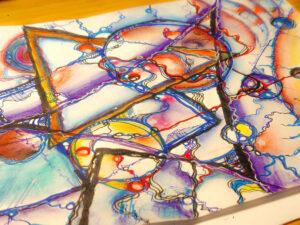 я-графика яграфика нейрографика дизайн рисование психология